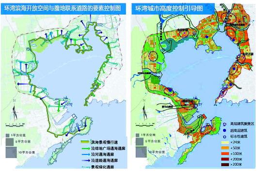 记者27日从市规划局了解到,《环胶州湾概念性城市设计》方案在青岛市
