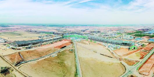五指廊主体工程通过验收 从青岛机场沿g20青银高速向西北方向行驶28
