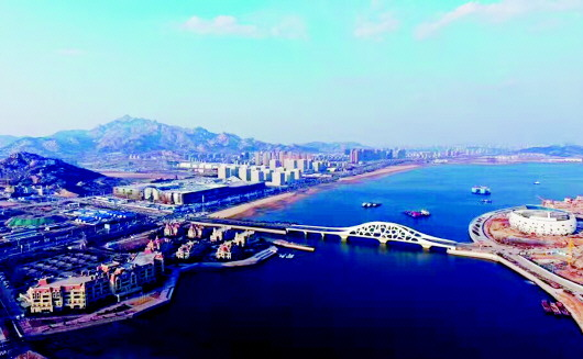 海洋经济的迅速崛起 青岛西海岸新区,除了2000余平方公里的青山绿地
