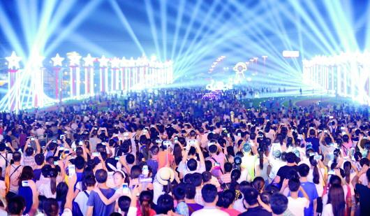 本届啤酒节设立了西海岸新区,崂山,李沧世博园,城阳,胶州,平度六个