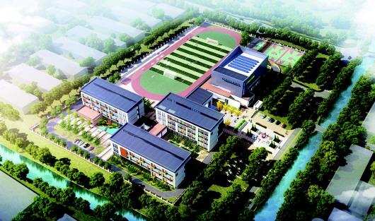 青岛西海岸新区成立四年以来,教育事业大步迈进,教育投入,学校建设速