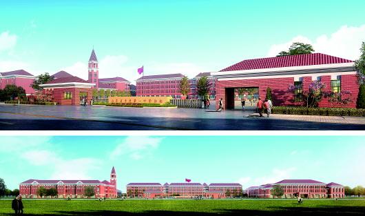 5万人的综合性校区.2017年7月,青岛农业大学平度校区开工建设.
