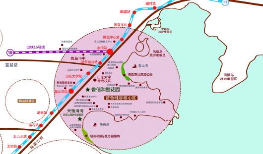 超陆权强国_强国战略,高水平规划建设青岛蓝谷,辖鳌山卫,温泉两个街道,陆域面积